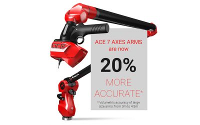 Expect More Accuracy From The New Ace 7-Axis Measuring Arms