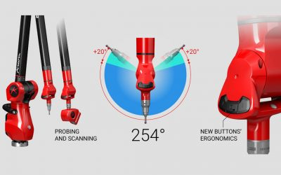The Ace 6-Axis Measuring Arm Gets A Timely Design Upgrade