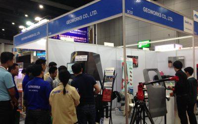 การออกบูทและสาธิตการใช้งานเครื่องมือวัดขนาดสามมิติ ในงาน InterMold Thailand 2017  ณ ไบเทค บางนา