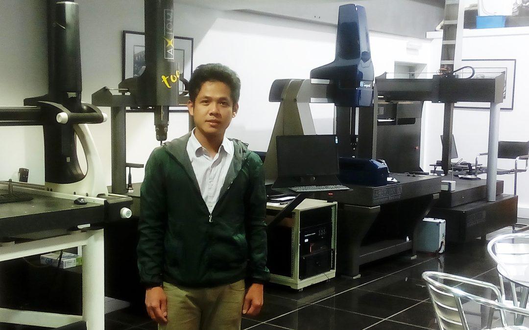 วิศวกรของจีโอเวิรคส์ ได้รับการฝึกอบรมการใช้งานขั้นสูงของเครื่อง Coordinate Measuring Machine (CMM) ณ เมืองกลอสเตอร์ สหราชอาณาจักร