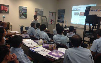 วิศวกรของบริษัทจีโอเวิรคส์ได้รับเชิญเป็นวิทยากรฝึก ความรู้เบื้องต้นเกี่ยวกับ Geometric Dimensioning and Tolerance (GD&T) และการใช้เครื่องมือวัดพิกัดละเอียดสามแกน (CMM ) เบื้องต้น ณ สถาบันไทย – เยอรมัน